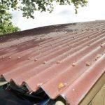 Tôle ondulée pour la toiture de l'abri voiture